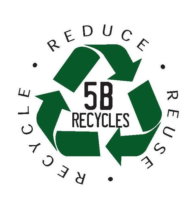 5B Recycles Website